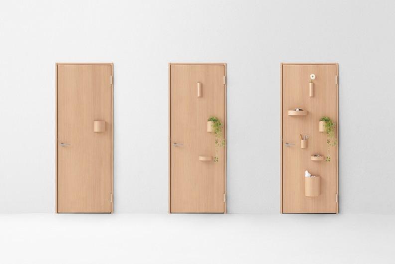 Milán 2015: Nendo diseña 7 puertas que incluyen diseños para los usuarios de sillas de ruedas y niños
